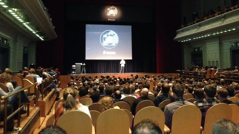 matt mullenweg speaking at wordcamp europe