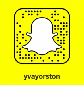 Yva Yorston Snapchat