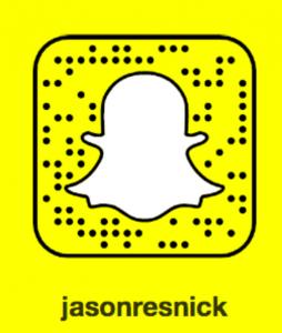 Jason Resnick Snapchat
