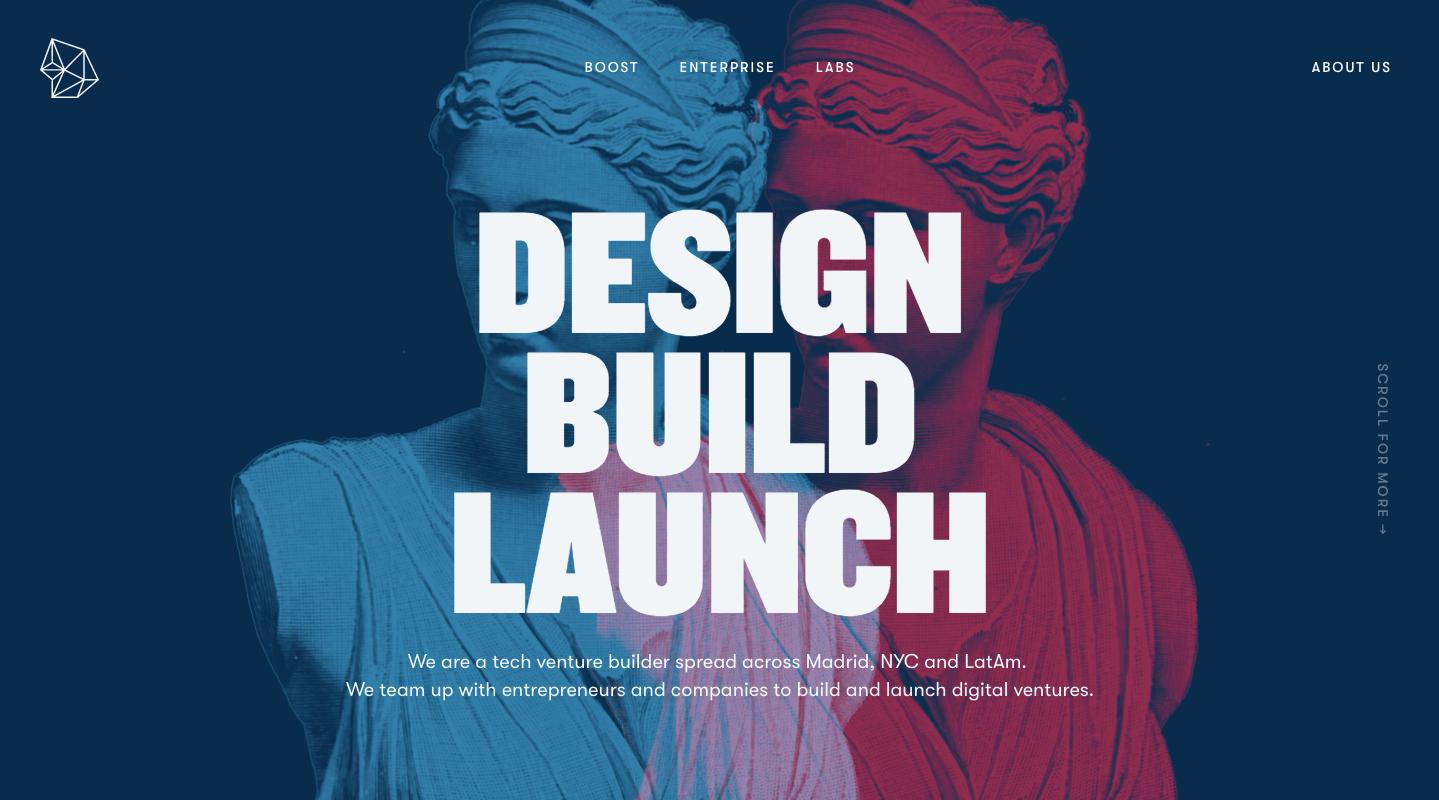 La tipografía se está posicionando como un elemento para las tendencias de diseño web en 2019