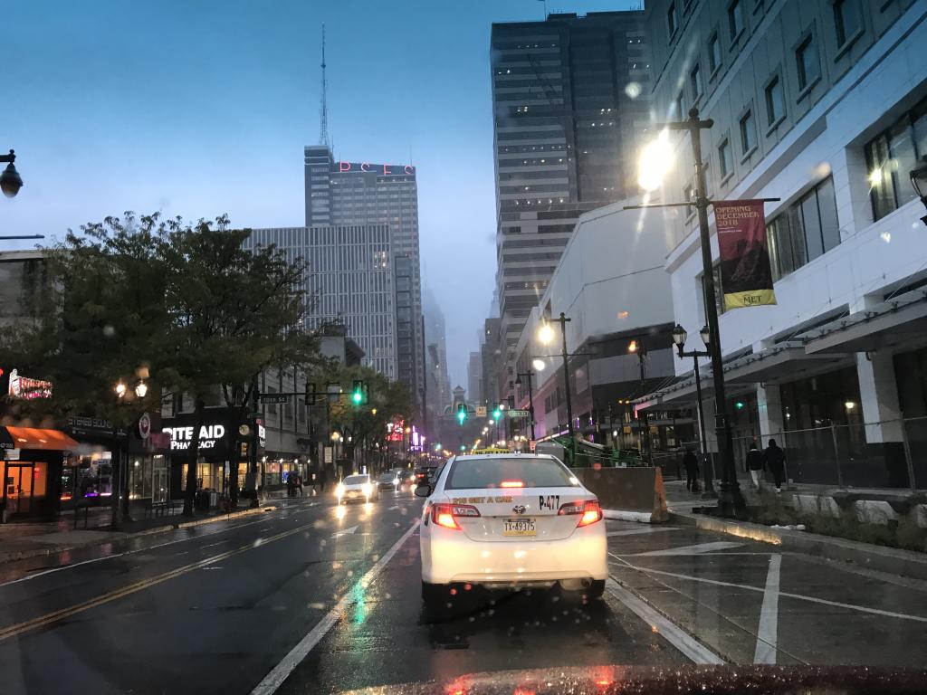 Rainy Philadelphia