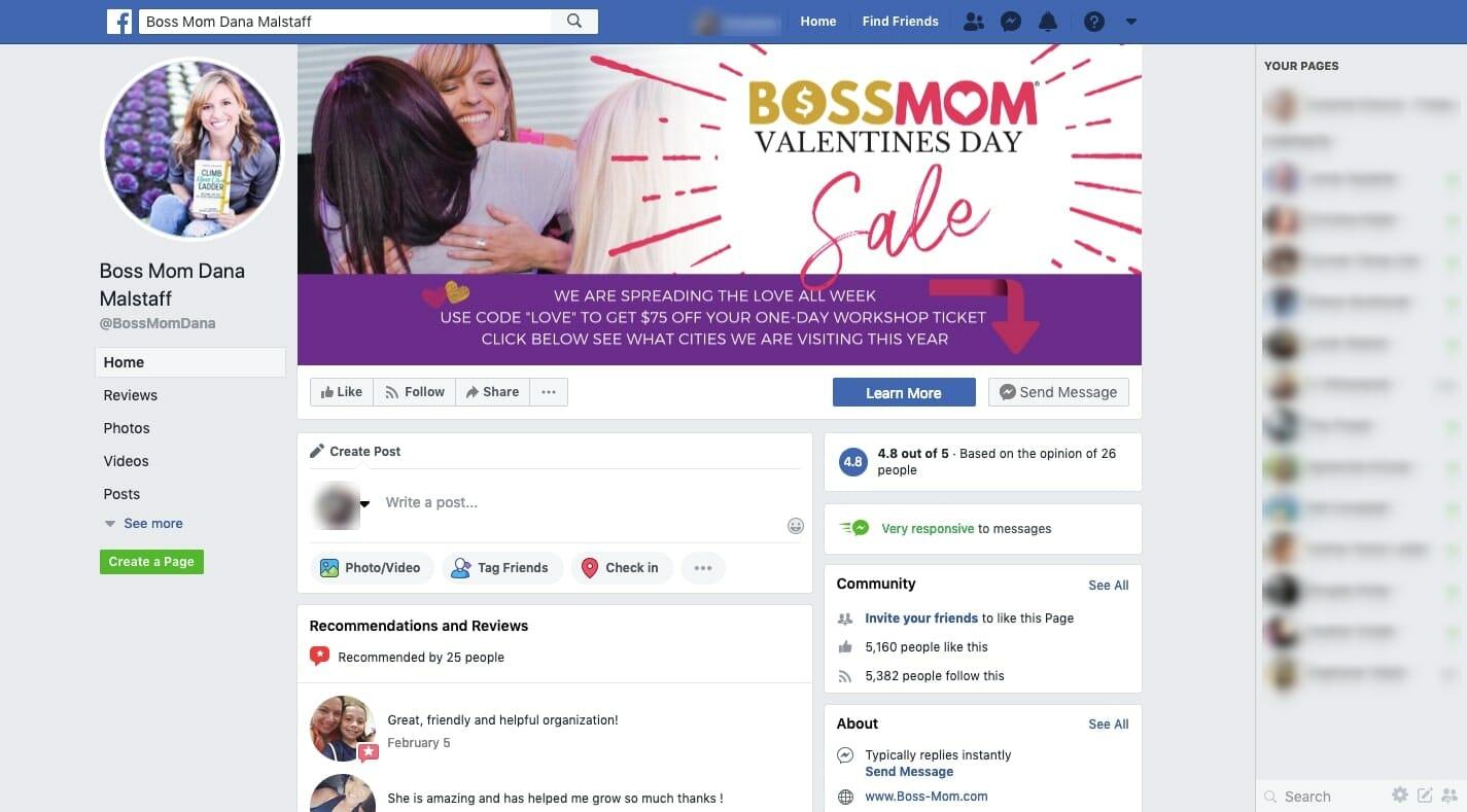 Boss Mom Facebook