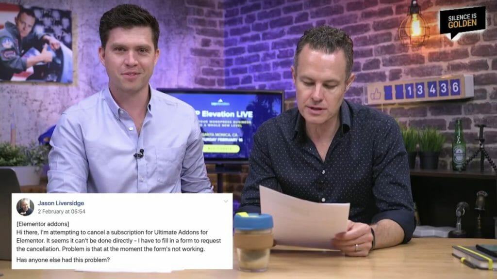 Jason Liversidge Question