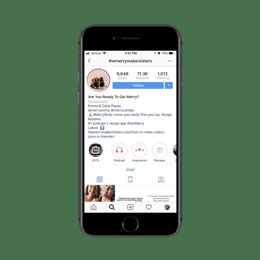 The Merrymaker Sisters Instagram