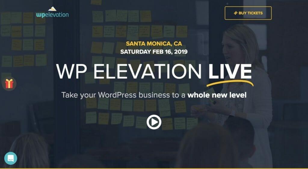 WP Elevation Live