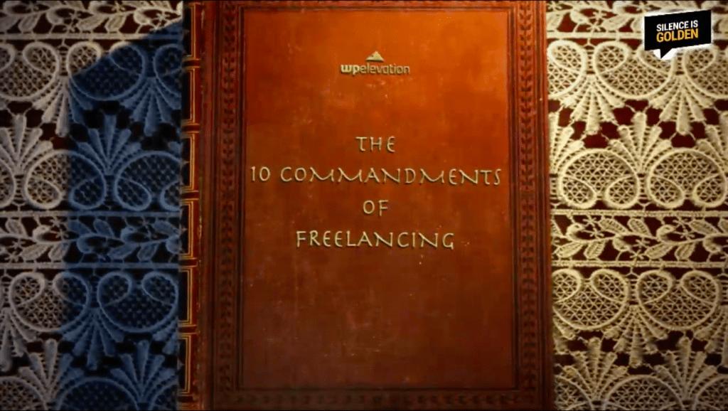 10 Commandments of Freelancing
