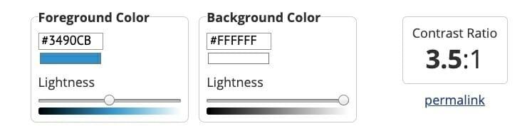 Color Contrast Checker 1