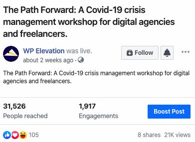 Covid-19 Crises Management workshop