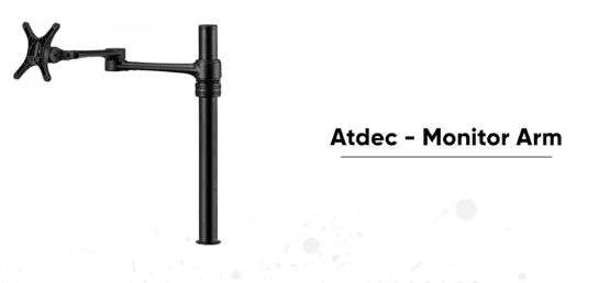 Atdec Monitor arm