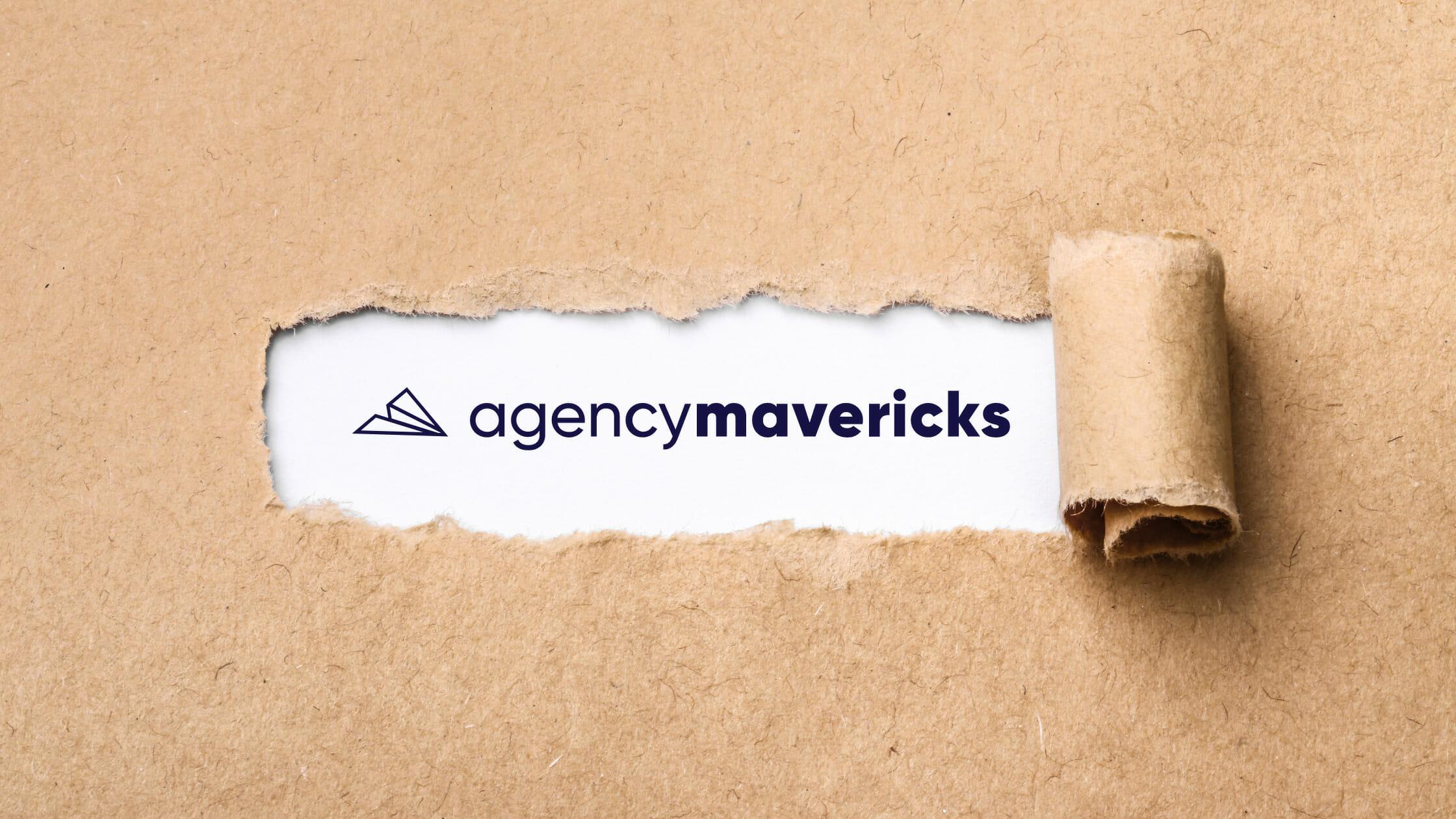 """WP Elevation's new name and ogo """"Agency Mavericks"""""""