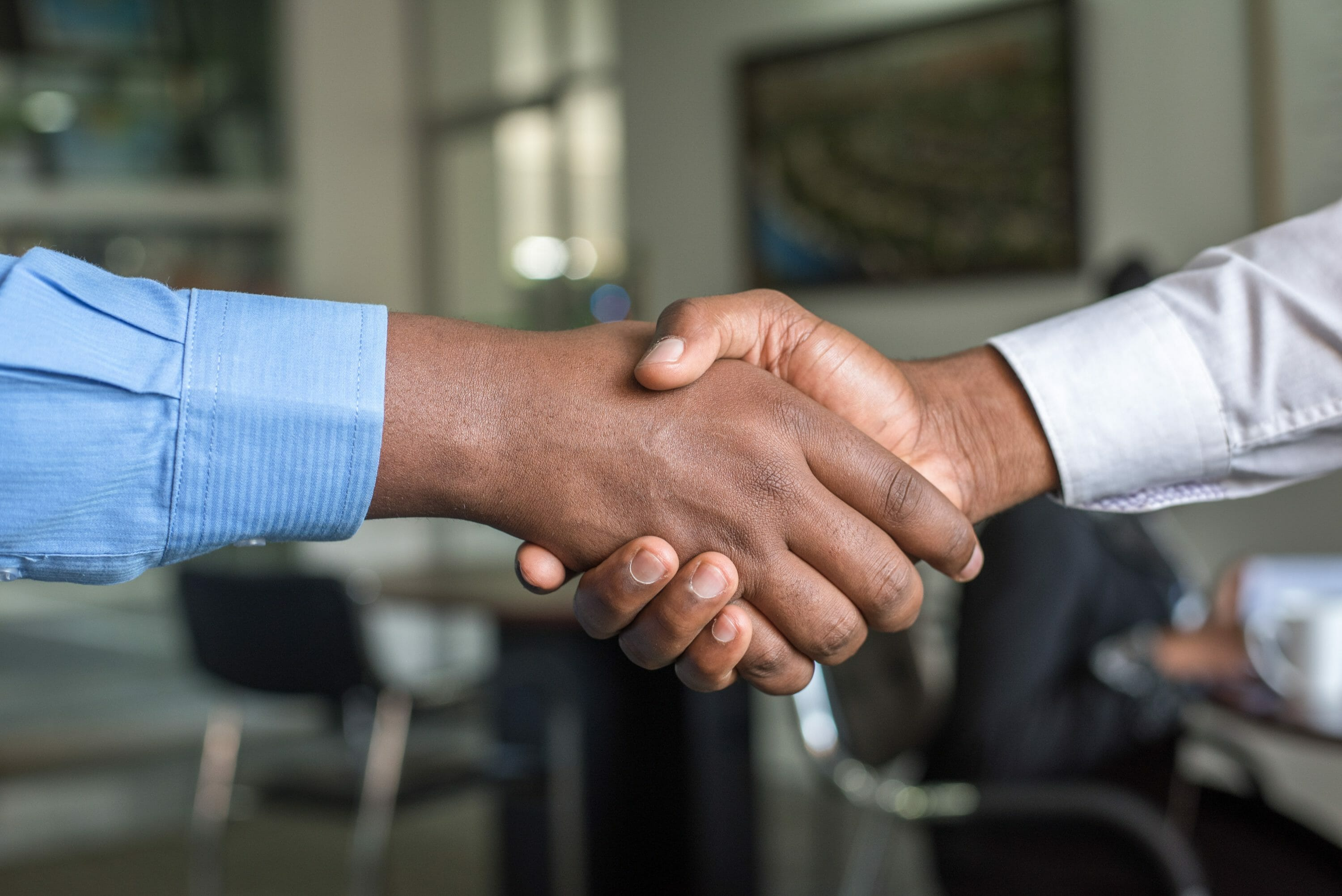 a handshake deal buying an agency