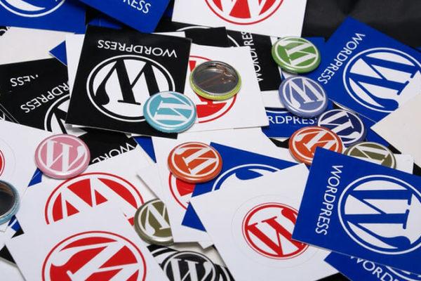 WordPress-button